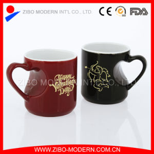 Wholesale Heart Handle Special Shape Mug  pictures & photos