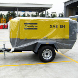 Xahs146 (XAHS300) 9.1m3/Min 12bar Portable Atlas Copco Screw Compressor pictures & photos