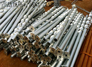 Hot Dipped Galvanized Fence Post Metal Anchors for Solar Mounting Systerms with Low Price and High Quality pictures & photos