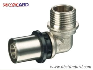 Press Pex-Al-Pex Fitting/Elbow/Male Thread Elbow for Pex-Al-Pex Pipe pictures & photos