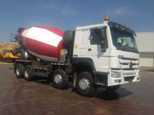 HOWO 8*4 12cbm Concrete Mixer Truck pictures & photos