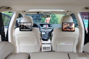 OEM 10.1 Inch Taxi Headrest Advertising Video Display for Automobile pictures & photos