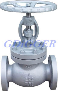 Industry Flange End Cast Steel Globe Valve pictures & photos