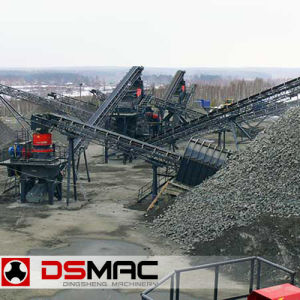 Aggregate Crushing Line