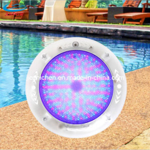 Underwater LED Swimming Pool Light 12V RGB Plastic Underwater Lamp