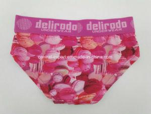 Aop Polyester Pink Dri Fit Children Underwear Girl Brief Boxer pictures & photos