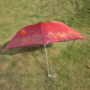 New Arrival Beautiful 3-Folding Coated UV Umbrellas (YSF3055) pictures & photos