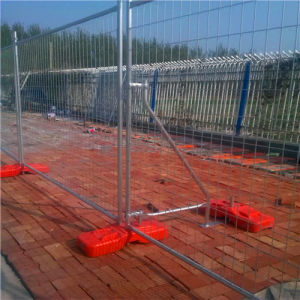ASTM4687-2007 Galvanised Temporary Fence with Wheel