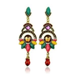 Trendy Bohemia Style Resin Stone Earring (XER13089) pictures & photos
