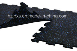 EPDM Granules Dots Interlocking Rubber Mats Rubber Flooring pictures & photos