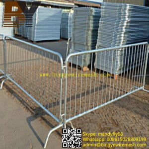 High Quality Galvanized Removable Barriers pictures & photos