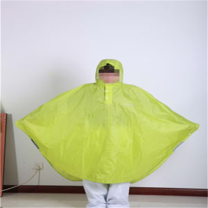 Polyester Embossed Allover Poncho for Adult pictures & photos