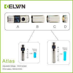 Factory Directly Kelvin Atlas Best 2014 Box Mod Electronic Cigarette