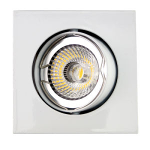 Aluminum Die Casting GU10 MR16 Square Tilt Recessed LED Downlight (LT1201) pictures & photos