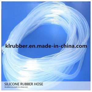 Food Grade Transparent Silicone Rubber Hose pictures & photos