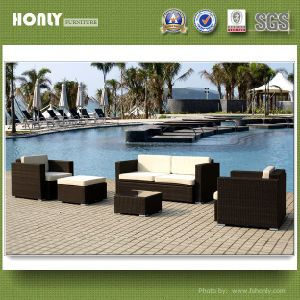 Latest Design Mordern Wicker Fashional PE Outdoor Rattan Sofa