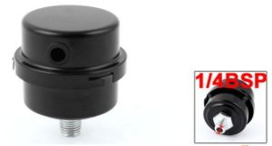 13mm Male Threaded Exhaust System Silencer Muffler Black for Air Compressor pictures & photos