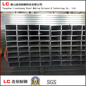 Black Hollow Section Tube for Export pictures & photos