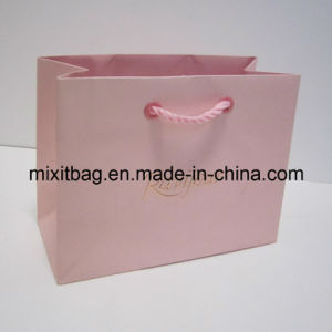 Pink Lady′s Paper Shopping Bag (MX-BG1162) pictures & photos
