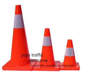"36"" Fluorescent Orange Road Safety Soft Cone Pjtc104"
