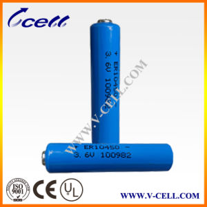 3.6V Max. Current 15mAh Battery Er10450 High Energy Density Lithium Battery