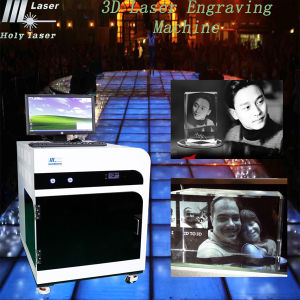 3D Laser Engraved Crystal Gifts, Laser Machine pictures & photos
