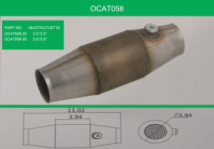 Universal Performance Catalytic Converter pictures & photos