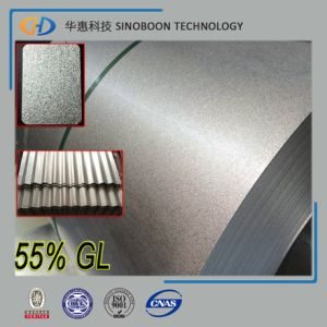 Anti-Finger Aluzinc Steel Gl Galvalume Steel Coils with ISO 9001 pictures & photos
