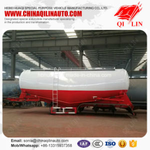 Qilin High Quality 60 Tons Lime Powder Storage Tanker Semi Trailer with ABS System pictures & photos