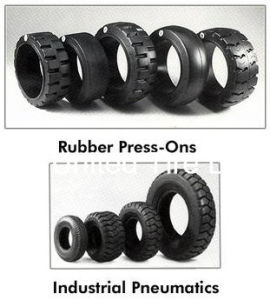 Pneumatic Industrial Forklift Tire with Tubes pictures & photos