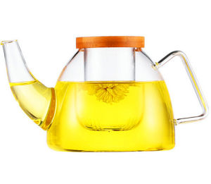 Big Capacity Glass Water Juicer Tea Pot Juice Pot with Filter pictures & photos