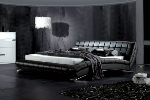 Modern Bed, Leather Bed, Australia Bed (9070) pictures & photos