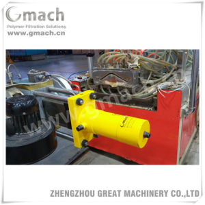 Single Screw Extruder/Plate Type Hydraulic Screen Changer pictures & photos