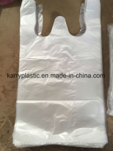 Polythene Bags T Shirt Bags for Clearning Trash pictures & photos