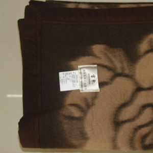100% Yak Wool Jacquard Blankets/Yak Cashmere Blankets/Wool Blankets pictures & photos
