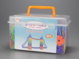 435PCS Children Educational Plastic Snowflake Blocks pictures & photos