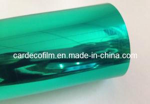 Green Chrome Vinyl Car Wrap