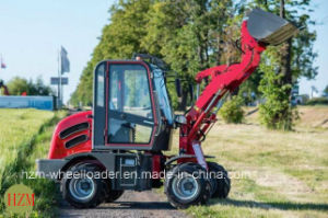 0.8ton Mini Backhoe Wheel Loader with Ce pictures & photos