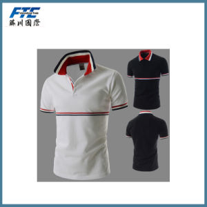 Customized Polo Shirt with Embroidery Good Quality pictures & photos