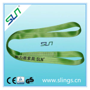 Duplex Eye Type Webbing Sling Sln Ce GS pictures & photos