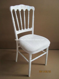 Wood Stacking Napoleon Chair pictures & photos