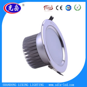 Silver 5inch 12W LED Down Light with Open Hole 140mm pictures & photos