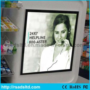 Advertising Display Magnetic Picture Frame LED Light Box pictures & photos