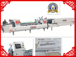 Xcs-800 Carton Paper Box Folder Gluer Machine pictures & photos