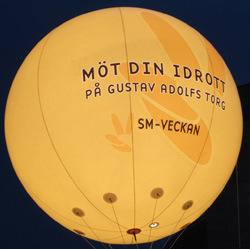 Full Print Lighting Helium Balloons