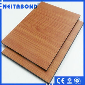 Natural Wood Color Aluminum Composite Panels (ACP/ACM) for Eco-Friendly Building pictures & photos