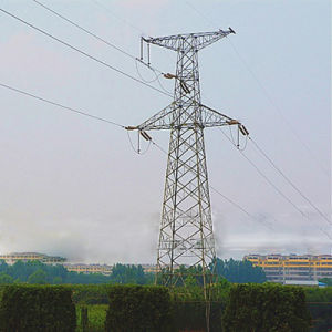 110 kV Tension Power Transmission Angle Steel Tower pictures & photos