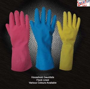 Latex Household Gloves in Kitchen/Cleaning Gloves pictures & photos