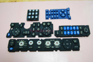 Moisture Proof 3m Adhesive Silicone Rubber Part Keypad Switch pictures & photos