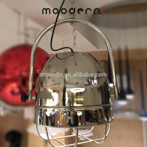 Modern Industrial Style Stainless Adjustable Steel Pendant Fixtures Hanging Light for Kitchen